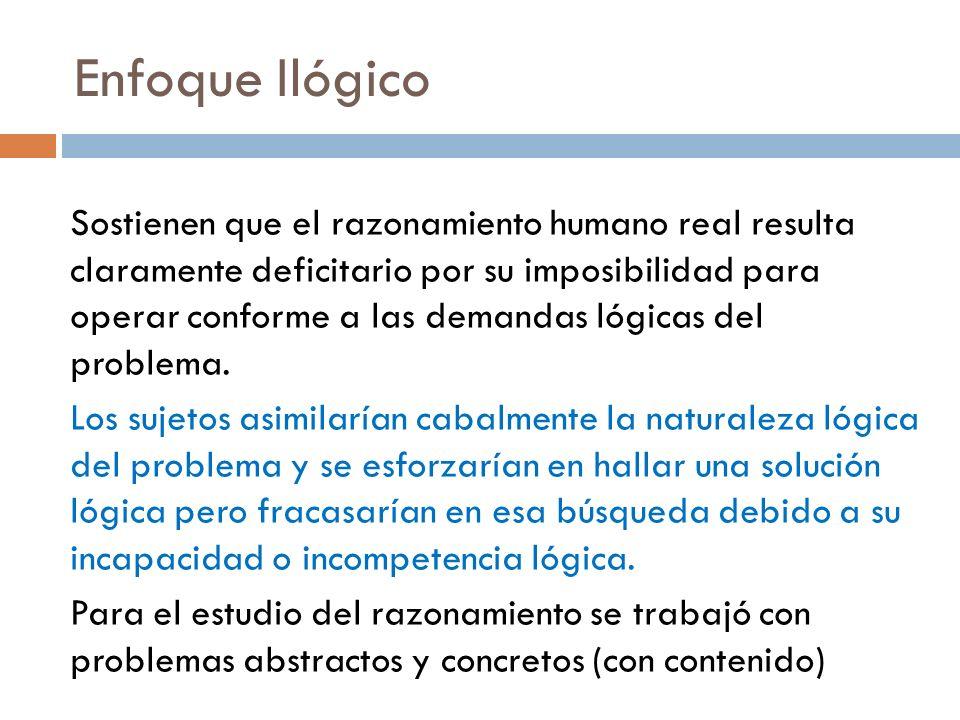 Enfoque Ilógico