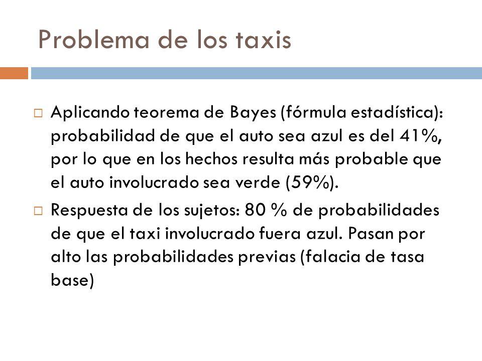 Problema de los taxis