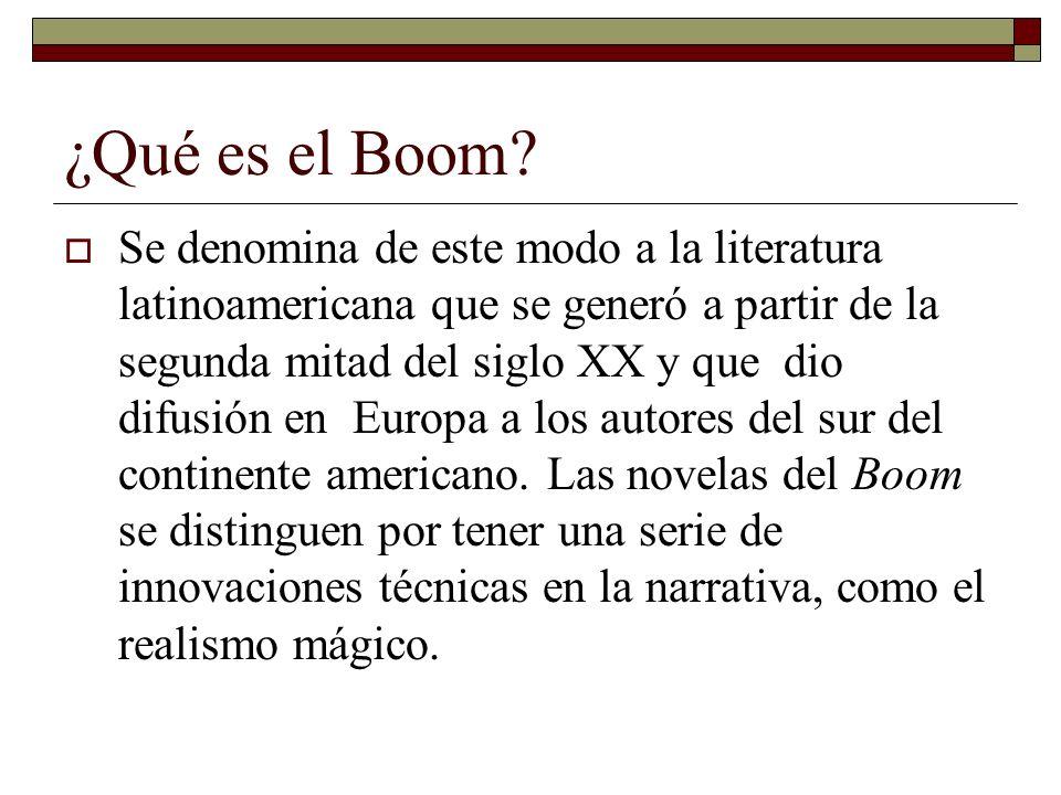 ¿Qué es el Boom