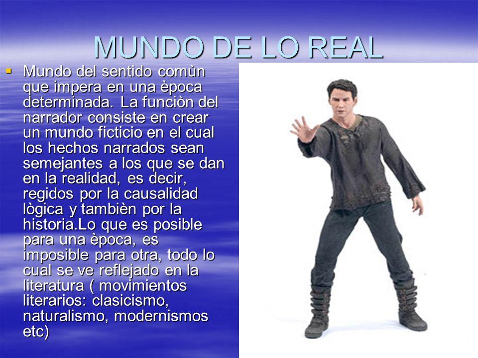 MUNDO DE LO REAL