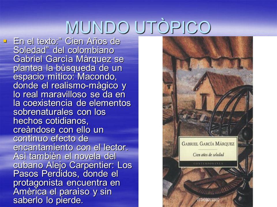MUNDO UTÒPICO