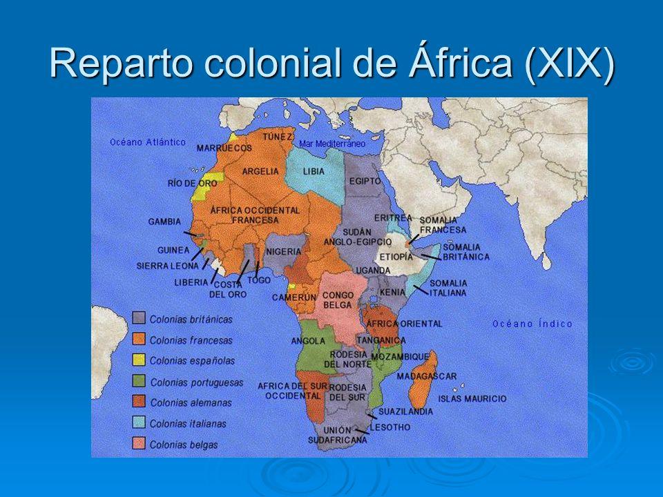 Reparto colonial de África (XIX)
