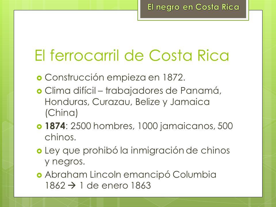El ferrocarril de Costa Rica