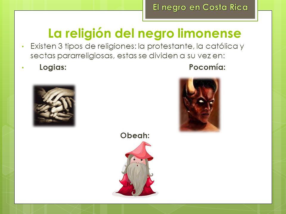 La religión del negro limonense