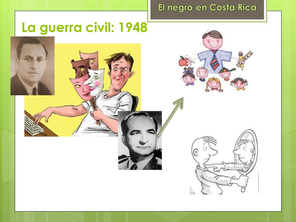 El negro en Costa Rica La guerra civil: 1948