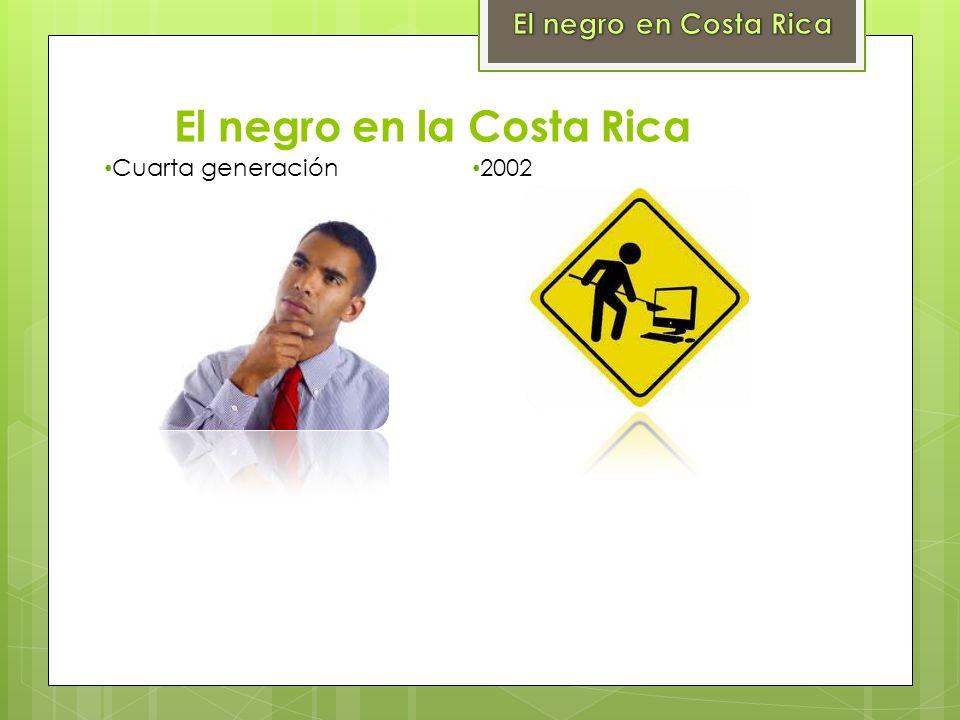 El negro en la Costa Rica
