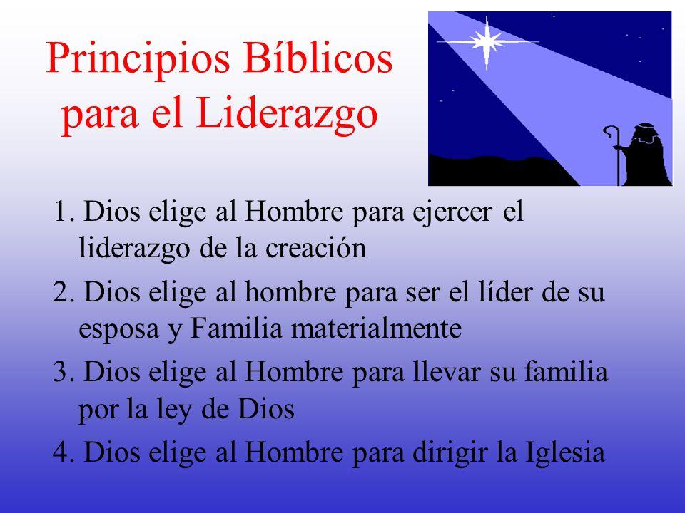 Principios Bíblicos para el Liderazgo