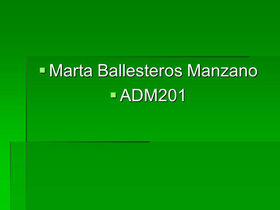 Marta Ballesteros Manzano
