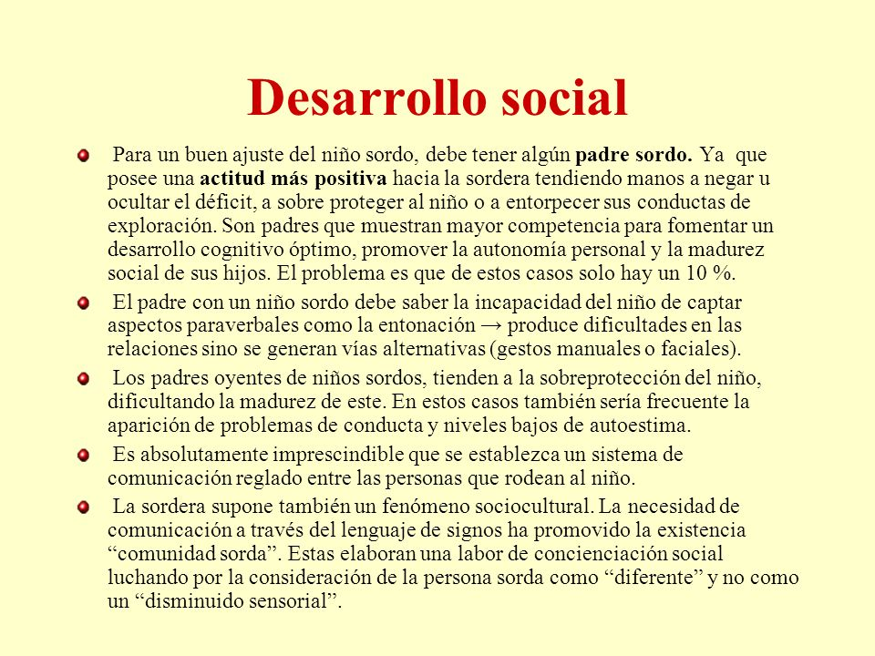 Desarrollo social