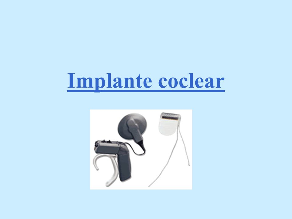 Implante coclear