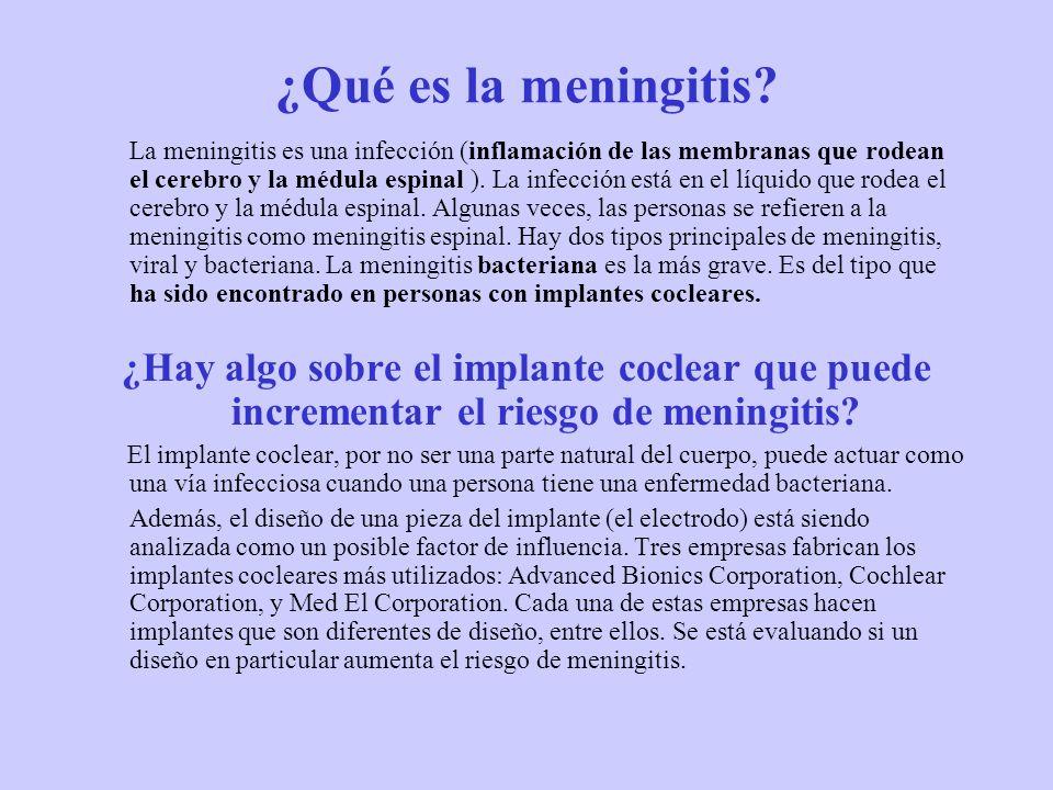 ¿Qué es la meningitis