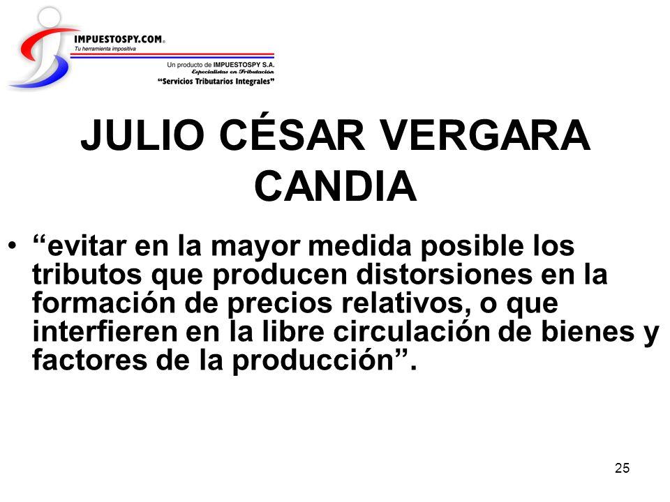 JULIO CÉSAR VERGARA CANDIA