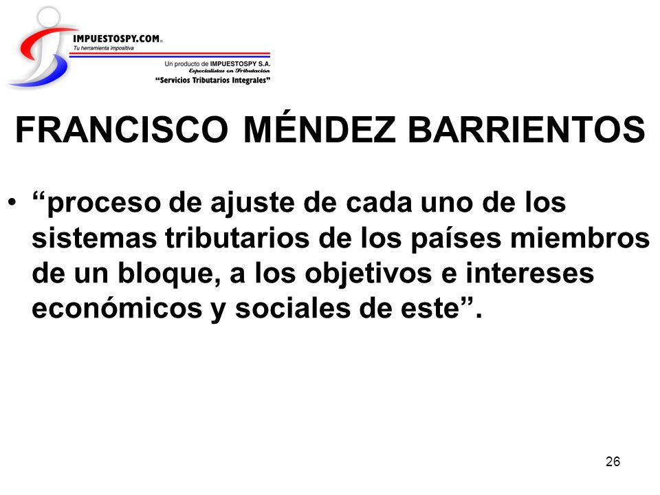 FRANCISCO MÉNDEZ BARRIENTOS