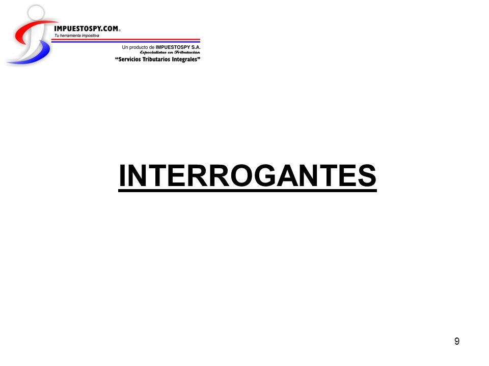 INTERROGANTES