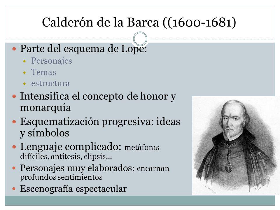 Calderón de la Barca ((1600-1681)