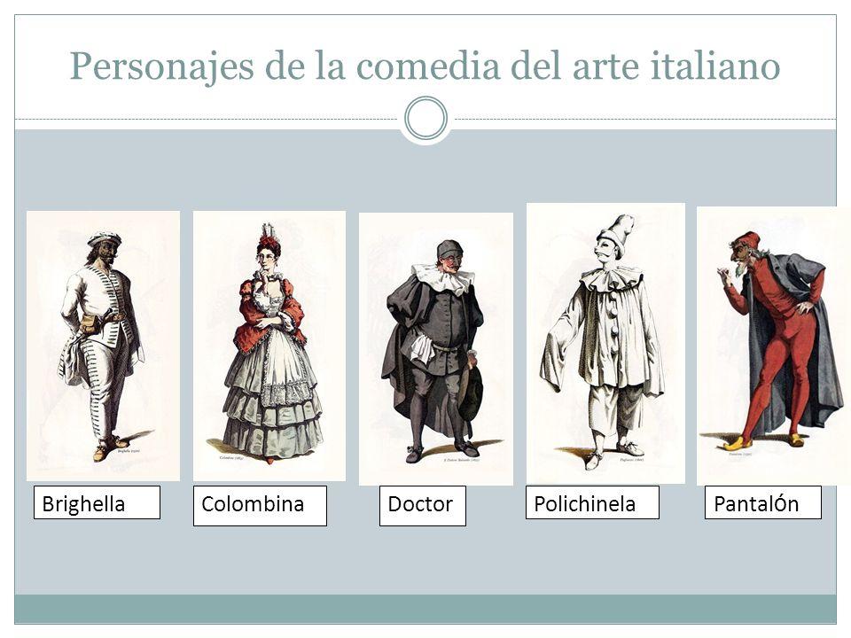 Personajes de la comedia del arte italiano