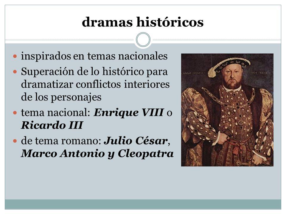 dramas históricos inspirados en temas nacionales
