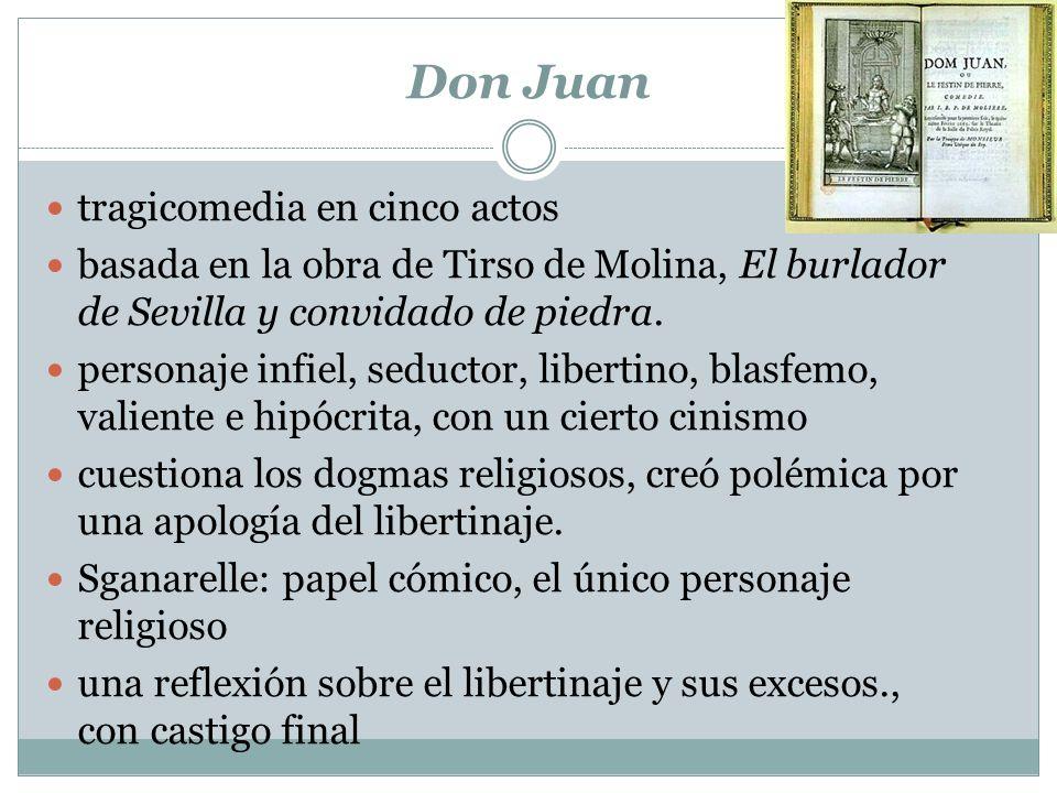 Don Juan tragicomedia en cinco actos