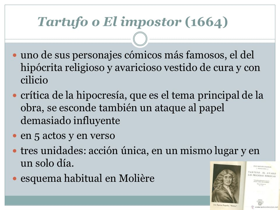 Tartufo o El impostor (1664)