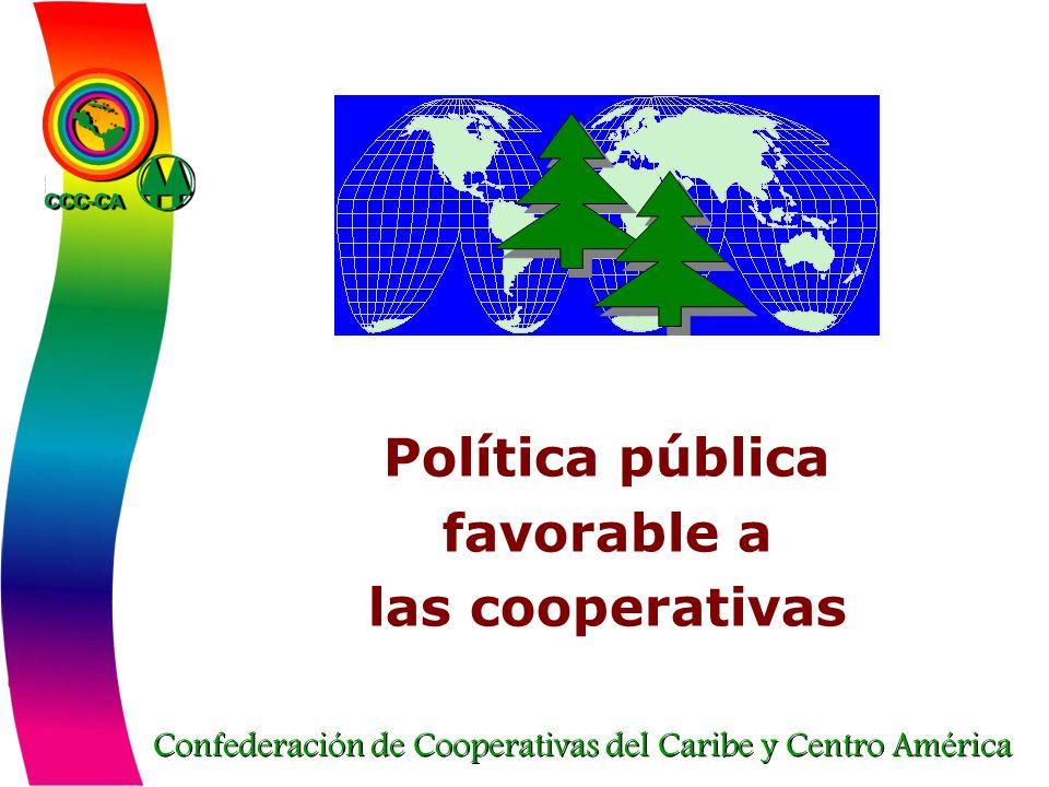Política pública favorable a las cooperativas
