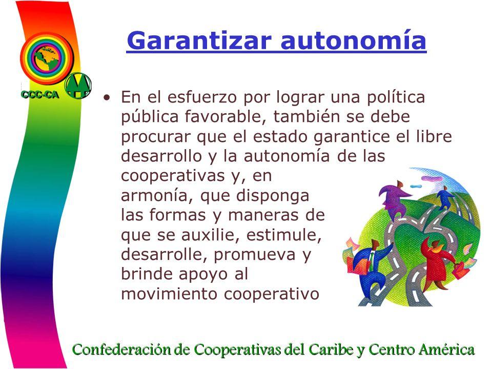 Garantizar autonomía