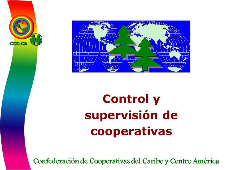 Control y supervisión de cooperativas