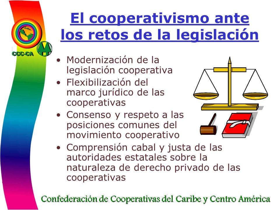 El cooperativismo ante los retos de la legislación