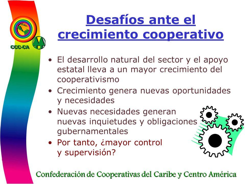 Desafíos ante el crecimiento cooperativo