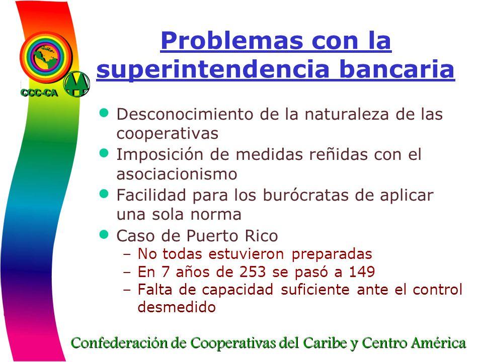 Problemas con la superintendencia bancaria
