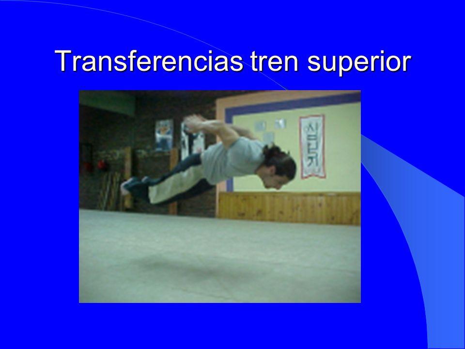Transferencias tren superior