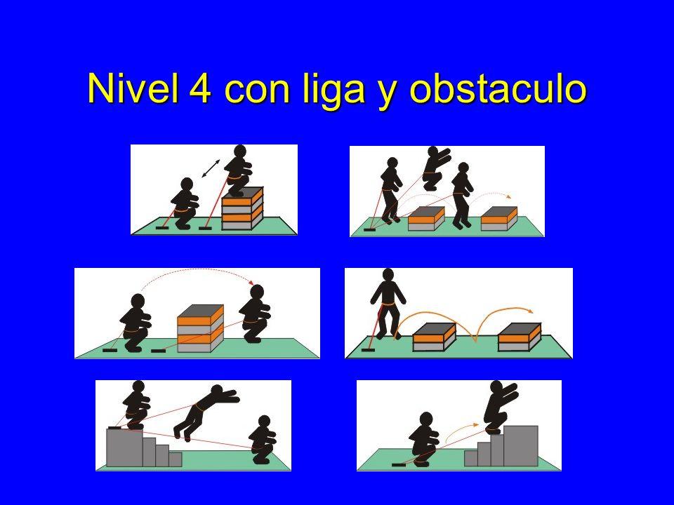 Nivel 4 con liga y obstaculo
