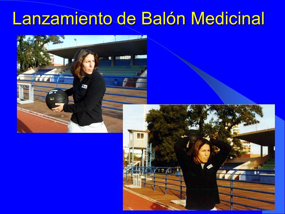 Lanzamiento de Balón Medicinal