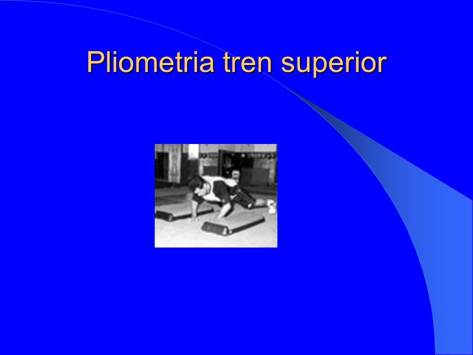 Pliometria tren superior