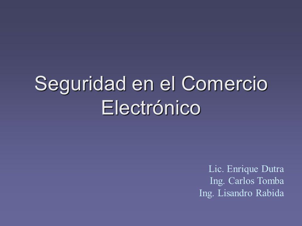 Seguridad en el Comercio Electrónico