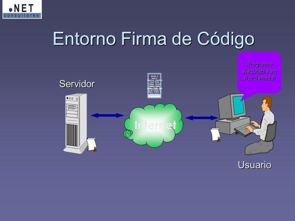 Entorno Firma de Código