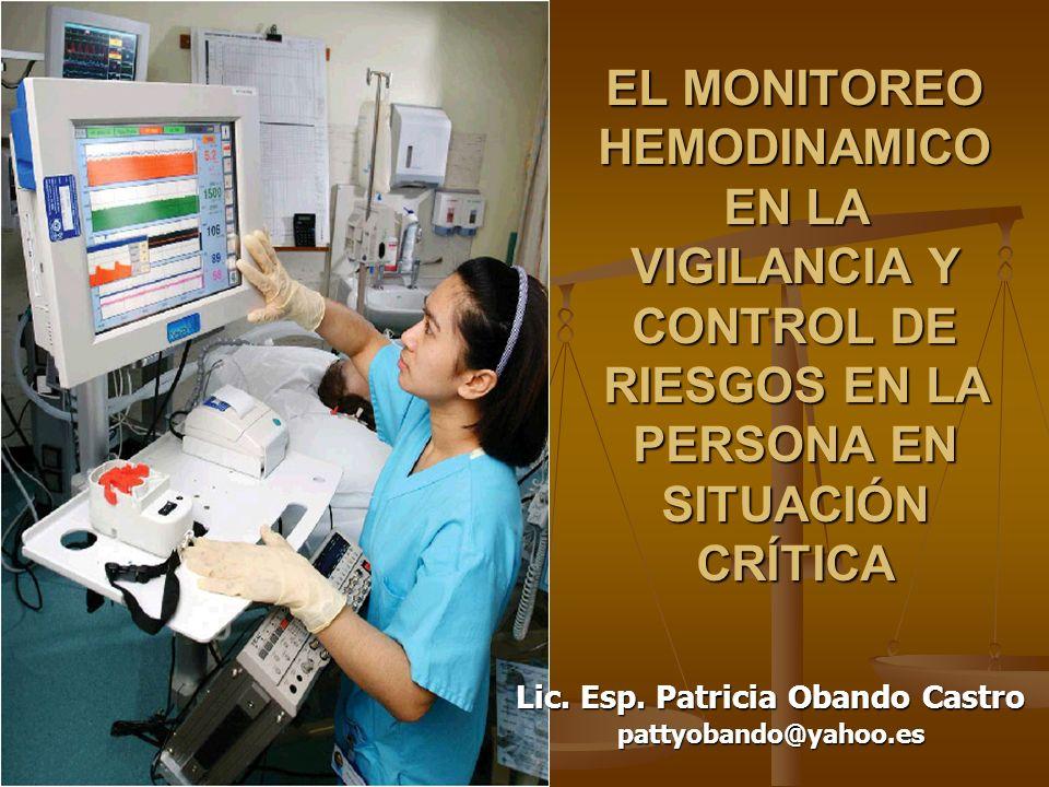 Lic. Esp. Patricia Obando Castro