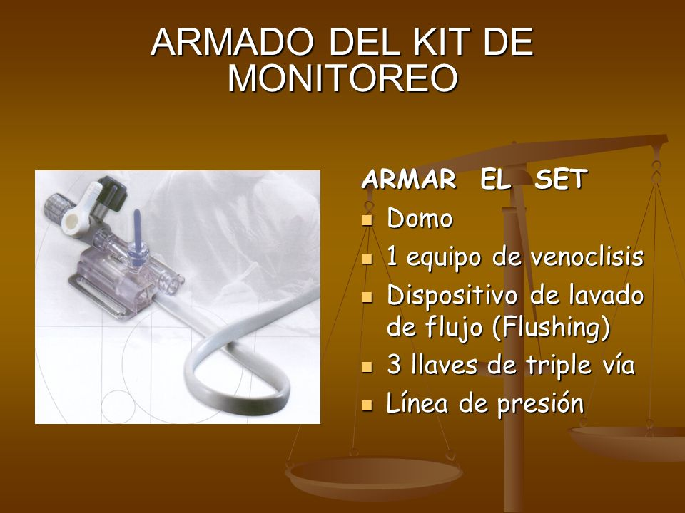 ARMADO DEL KIT DE MONITOREO