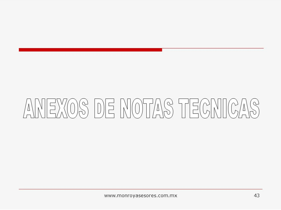 ANEXOS DE NOTAS TECNICAS