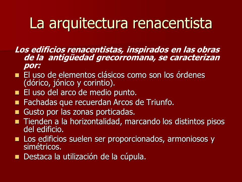 La arquitectura renacentista