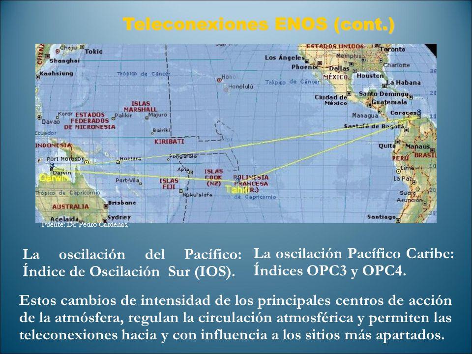 Teleconexiones ENOS (cont.)