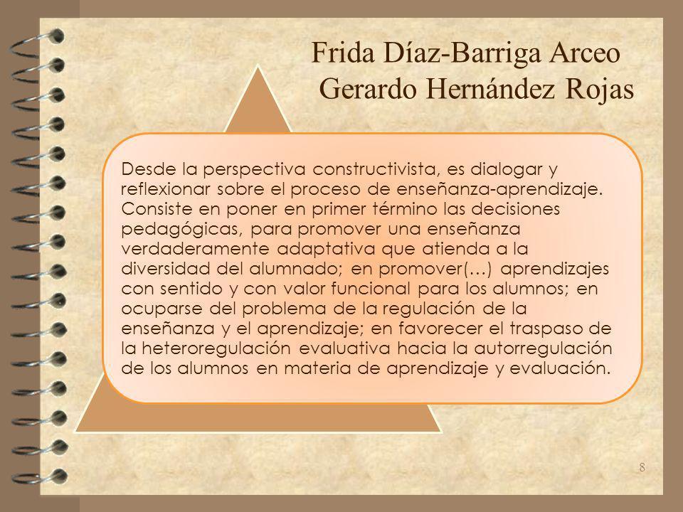 Frida Díaz-Barriga Arceo Gerardo Hernández Rojas