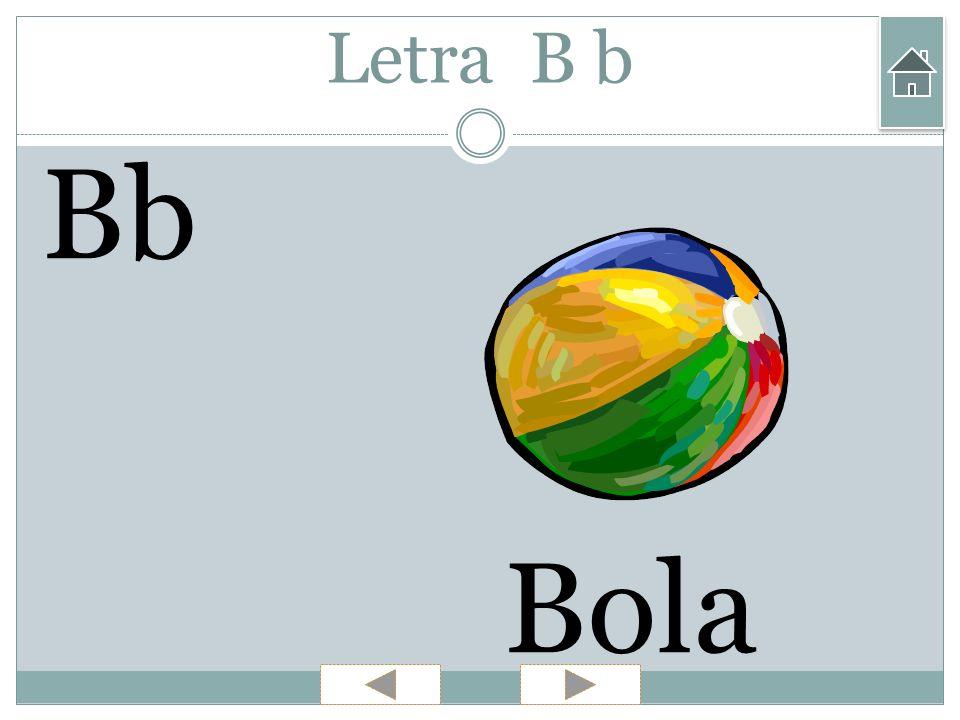Letra B b Bb Bola