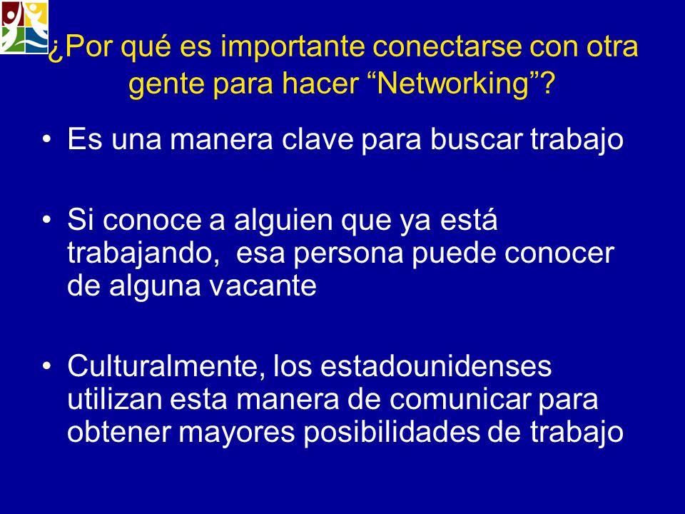 ¿Por qué es importante conectarse con otra gente para hacer Networking