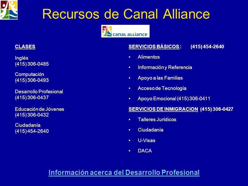 Recursos de Canal Alliance