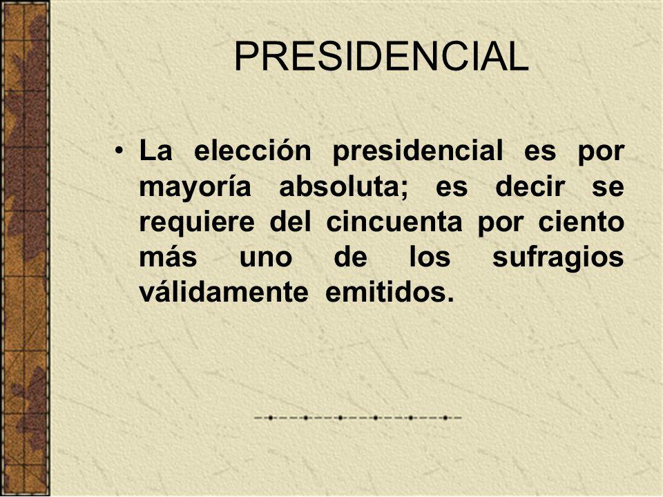 PRESIDENCIAL