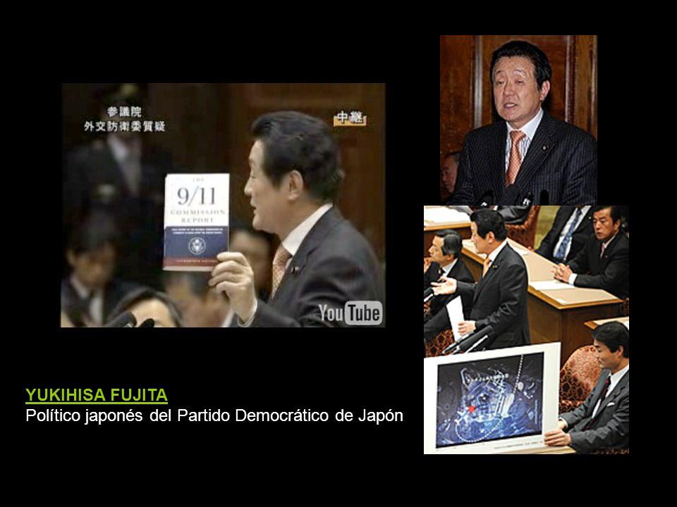 YUKIHISA FUJITA Político japonés del Partido Democrático de Japón