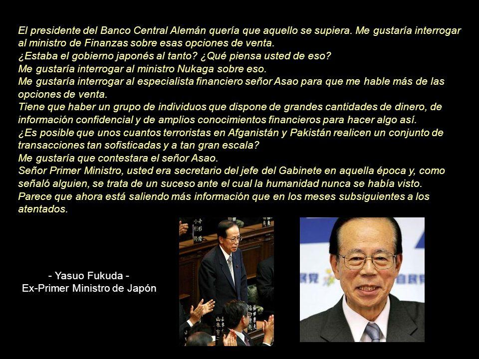 Ex-Primer Ministro de Japón