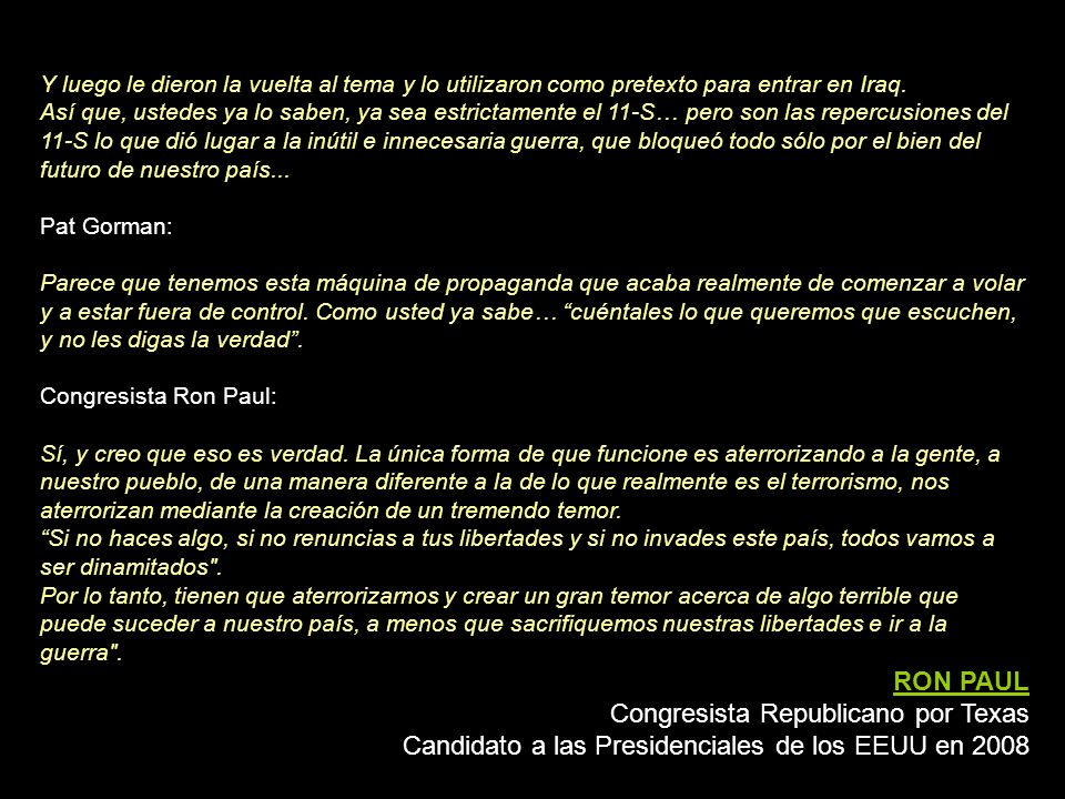 Congresista Republicano por Texas