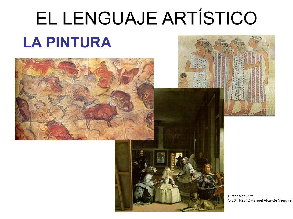 EL LENGUAJE ARTÍSTICO LA PINTURA Historia del Arte
