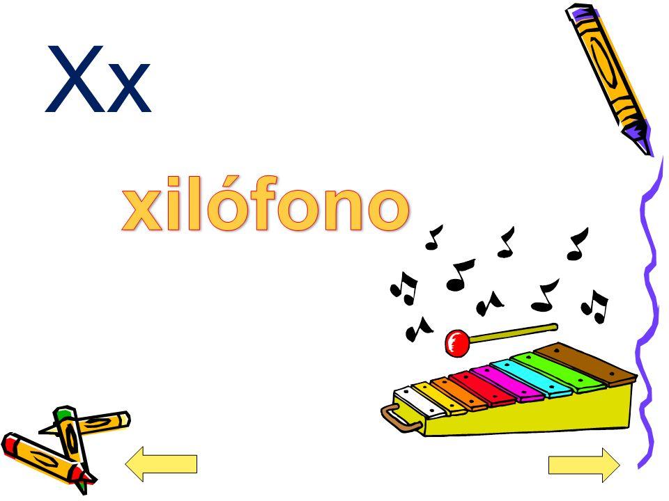 Xx xilófono